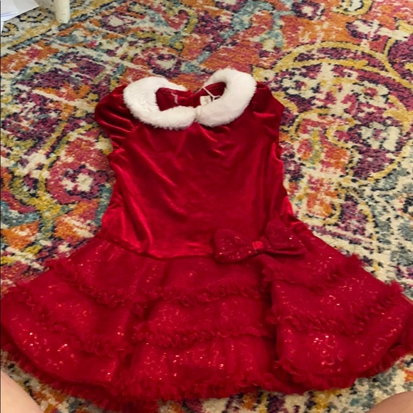 Little girls red dress